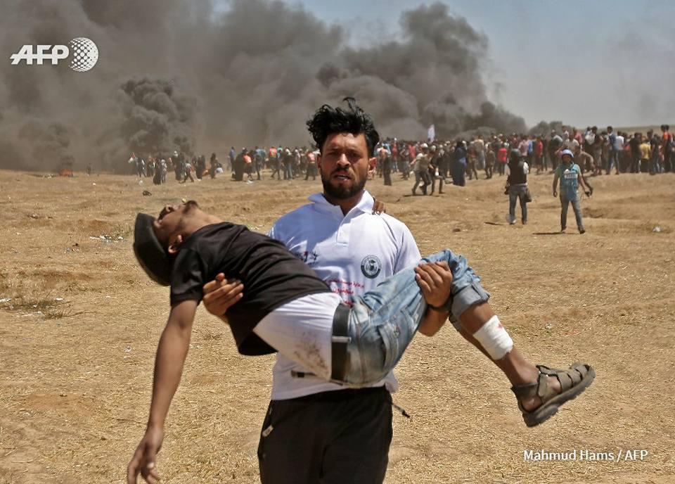 palestinese morto