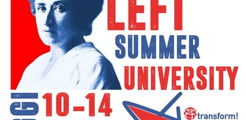 Iscrivetevi all'università estiva della Sinistra Europea