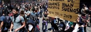 Con il popolo cileno contro la democra-tura di Piñera!