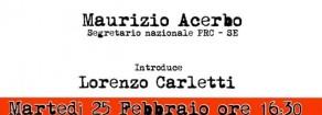 Terni, biografia di una città: incontro con Alessandro Portelli (audio)