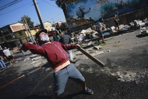 TOPSHOT-CHILE-HEALTH-VIRUS-PROTEST