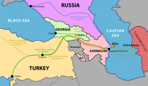 Baku pipelines