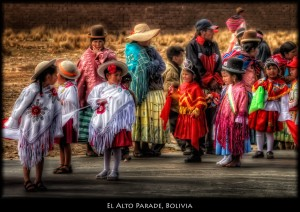Bolivia, la parade a El Alto celebra Il Giorno del Mare